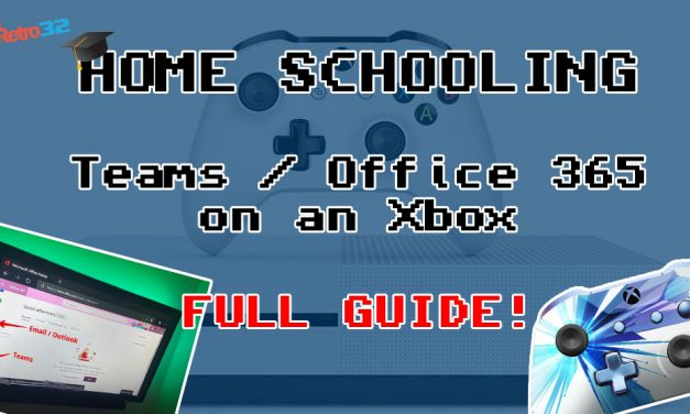 How to access Microsoft Teams on your Xbox One games console – Home Schooling Office 365