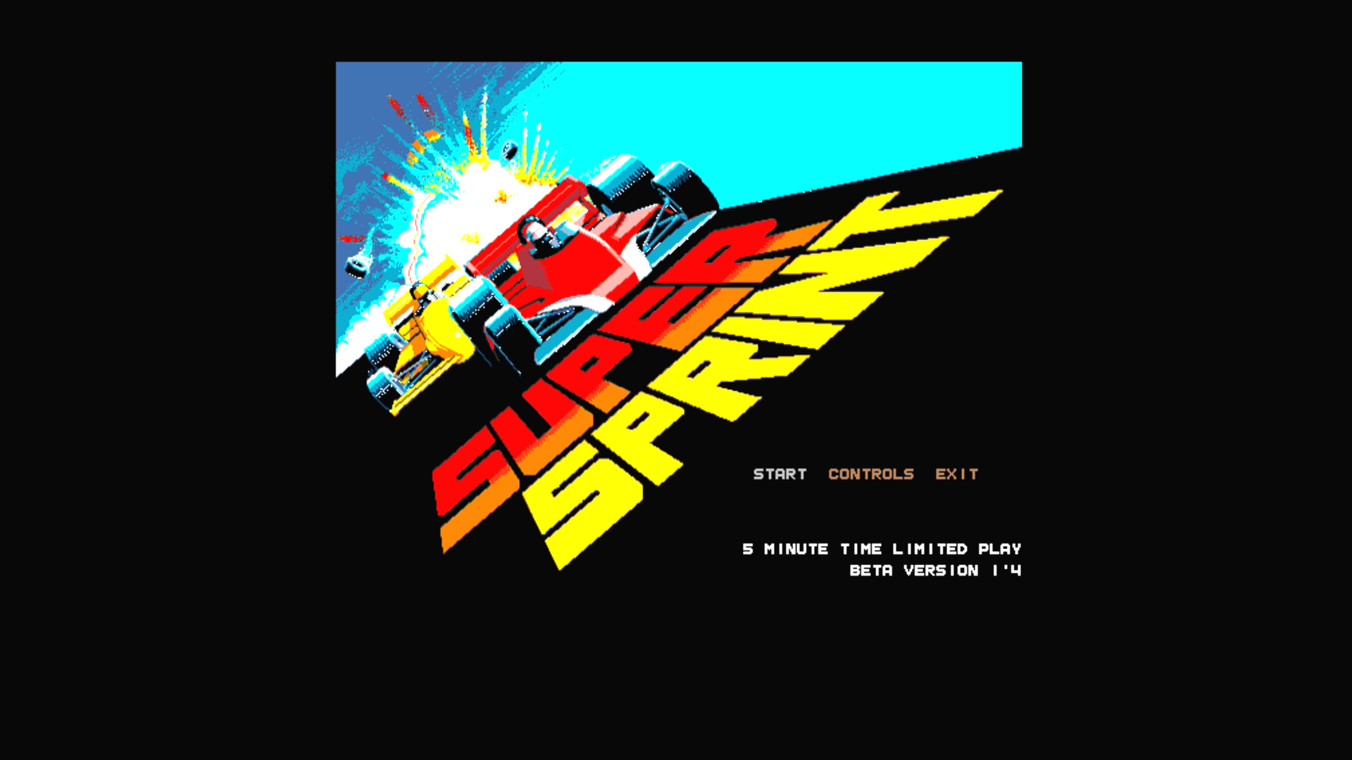 The highly anticipated Amiga game Turbo Sprint is here!