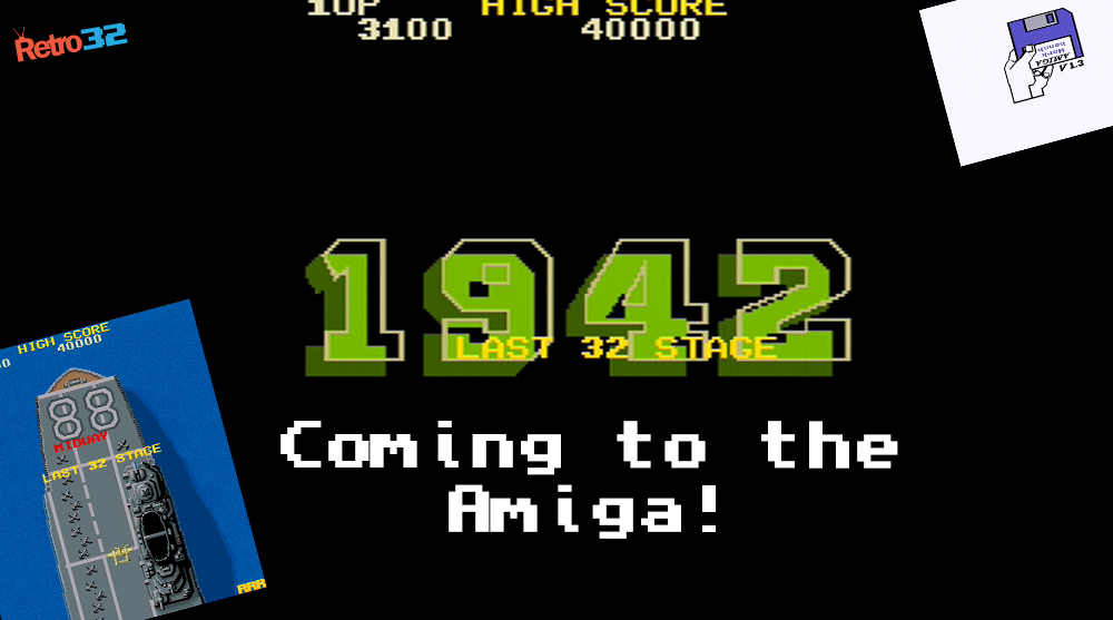 The Capcom classic 1942 is finally coming to the Amiga