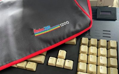 Review: Custom Amiga 1200 cover from Sew Ready