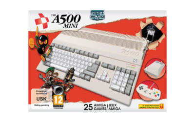 How to pre-order the new A500 Mini Console – How much is it? Amiga 500