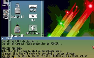Amiga PCMCIA to Compact Flash CF Installation – Driver Disk -ADF